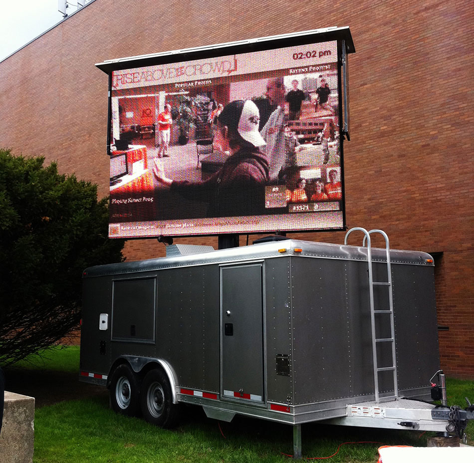 Outdoor Mobile Los Angeles LED Video Screen
