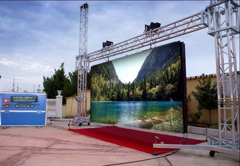 Outdoor Los Angeles LED Screen Rental