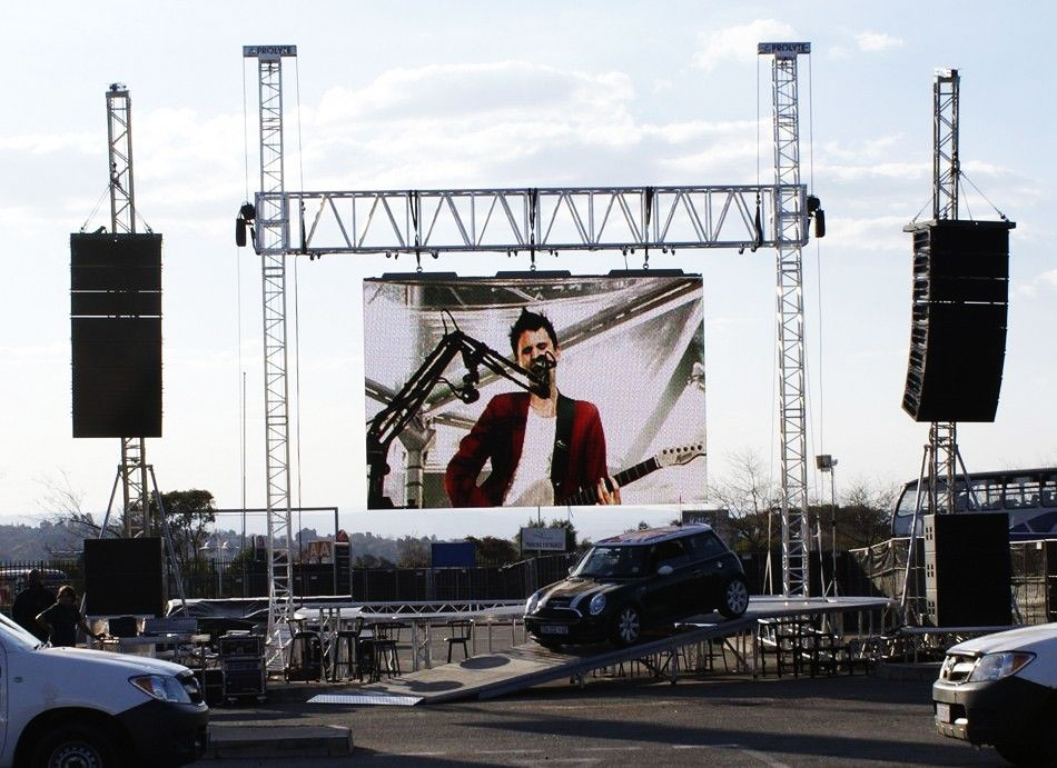 Outdoor Modular Los Angeles LED Video Wall Rental